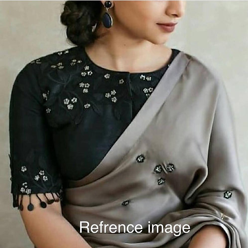 ZOYA SILK WITH RESHAM WORK SAREE