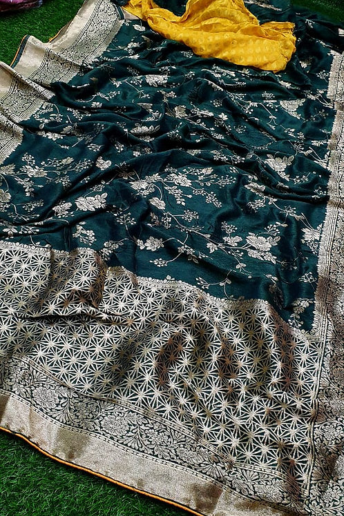 Pure Dolla Silk Jari Fabric Saree