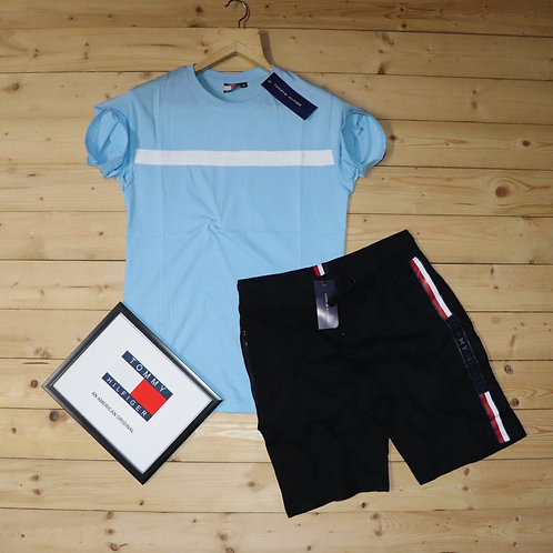 branded combo T-shirt+shorts
