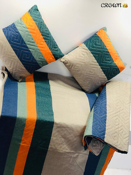 5 piece queen bed sheet
