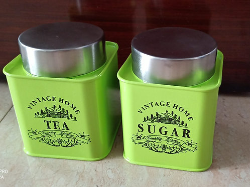 Suger & tea container