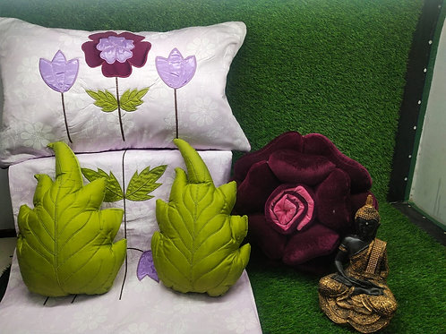Flower 6 Pc Cushion Set