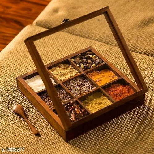 Wooden Spicy Tray
