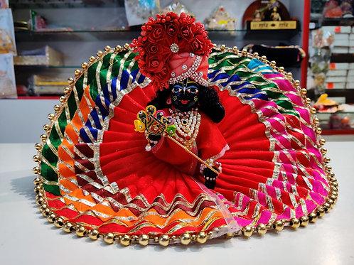 A very beautiful full poshak set available poskak in bhadej work
