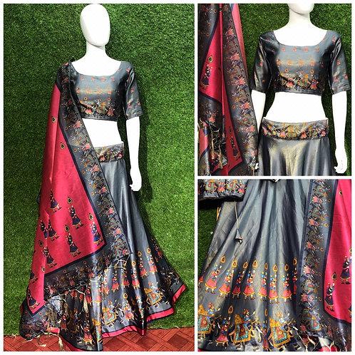 Navratri Digital Printed Heavy Occasional Designer Lahenga Choli