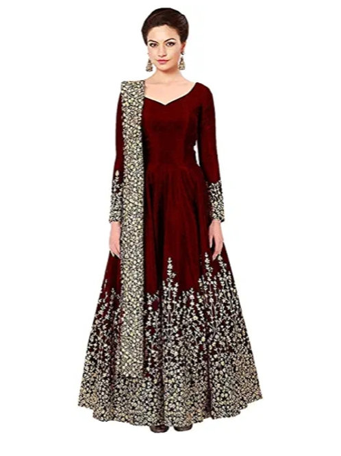 Aisha takiya Anarkali gown