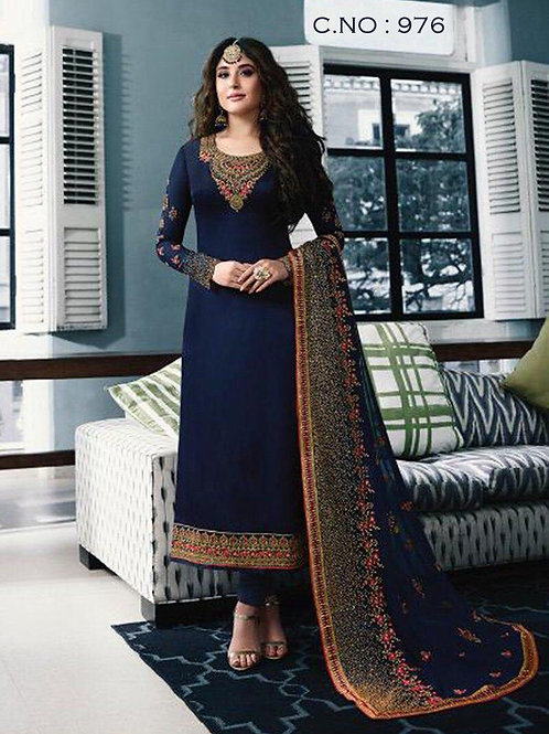 Exclusive heavy dress material suit for women