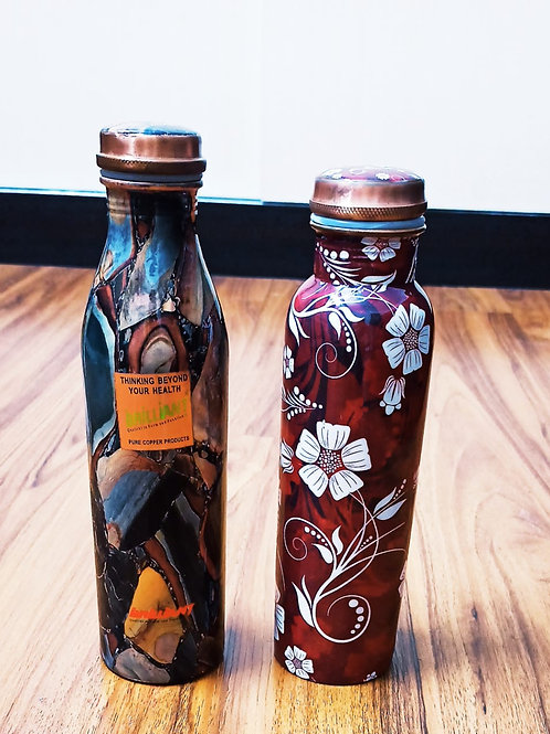 Copper 2 Bottle Set