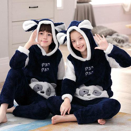 Kids unisex High quality thick warm flannel Nightwear