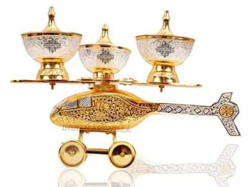 Metallic golden and silver fancy table Bowl Set