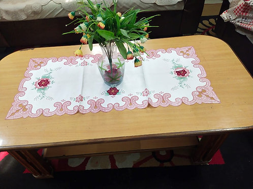 Cut Work Cotton Centre Table cum Dining table Runner