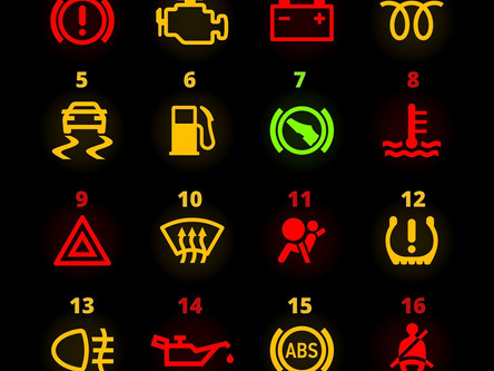 Do you know the meaning of these warning lights on your car?