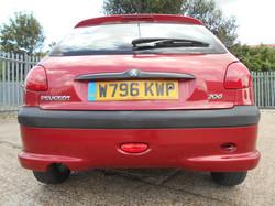 Peugeot 206 rear.JPG