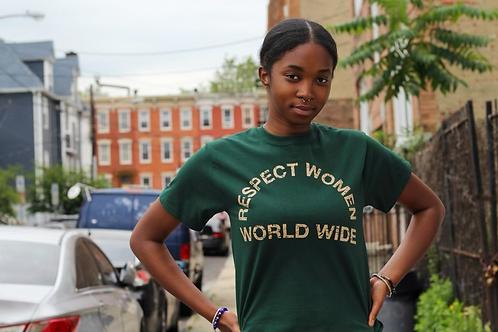 Respect Women Worldwide Heritage Tee