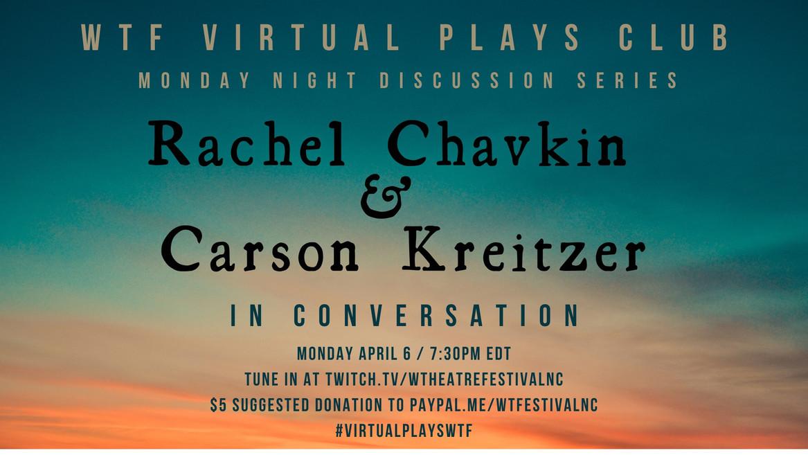 Rachel Chavkin & Carson Kreitzer