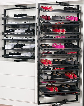 Revolving Shoe Organizers