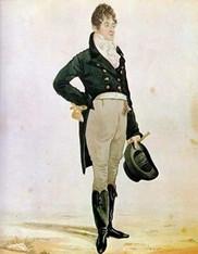 Ričard Dajton, karikatura Bo Brumela, 1805.