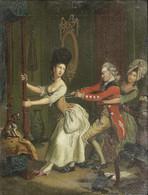 Tight Lacing, or Fashion before Ease, iz satiričnog printa prema Džonu Koletu, London, 1777.