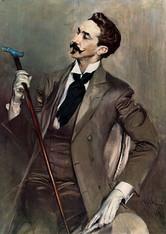 Đovani Boldini, Portret Roberta de Monteskjea, 1897.
