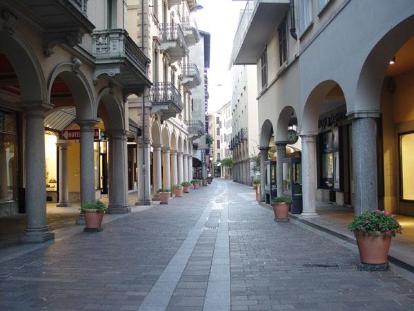 Lugano, in centro