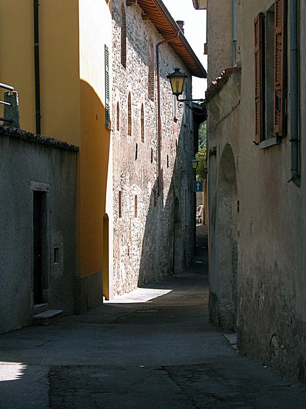 Mendrisio, nel borgo