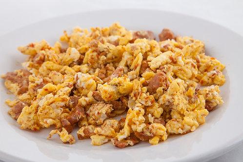 Huevos con Longaniza