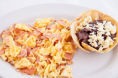 Huevos con Jamón