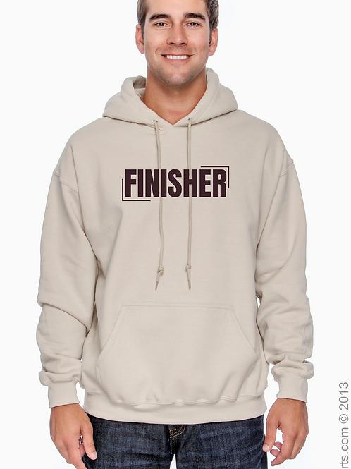 """FINISHER"" Tan Hoodie"