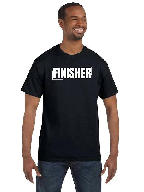 """""""FINISHER"""" Black Unisex T-Shirt"""