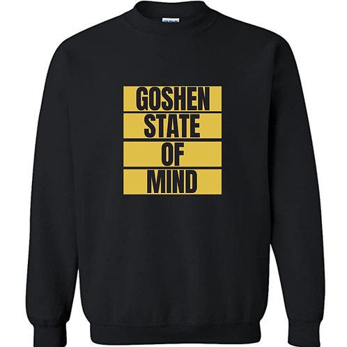 """""""Goshen State of Mind"""" Black Unisex Sweatshirt"""
