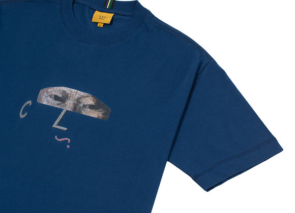 t-shirt class ''cordial'' azul marinho
