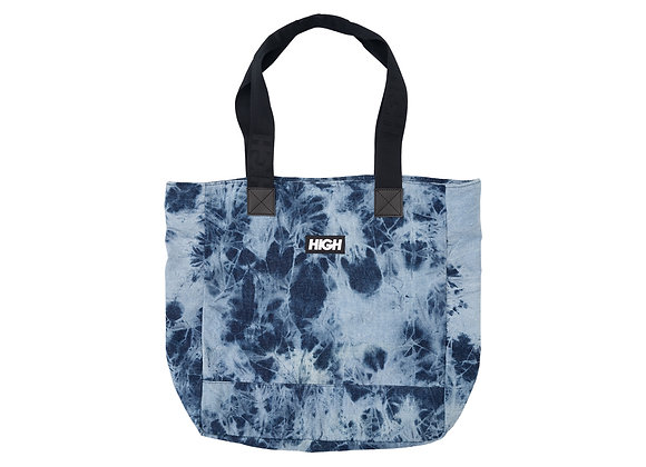 bleached jeans tote bag high company