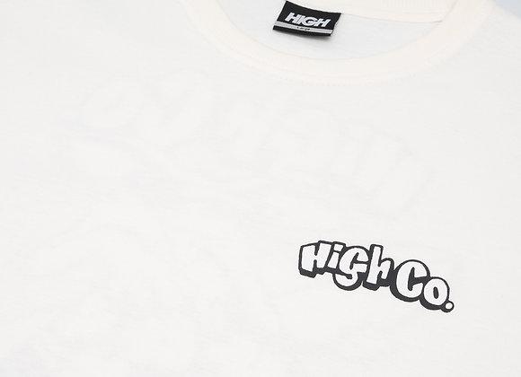 t-shirt high ''beach rat'' white