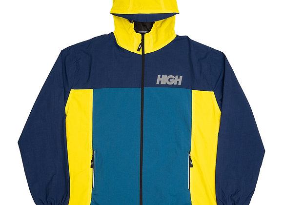 rain jacket high yellow/navy