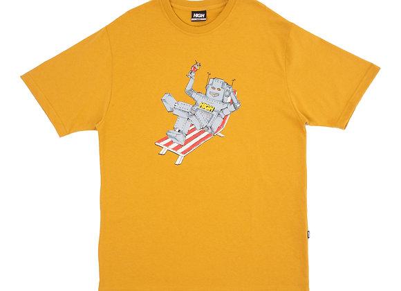 t-shirt high ''robot'' yellow