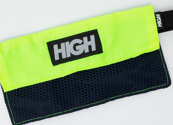 mesh bag high company reflective logo