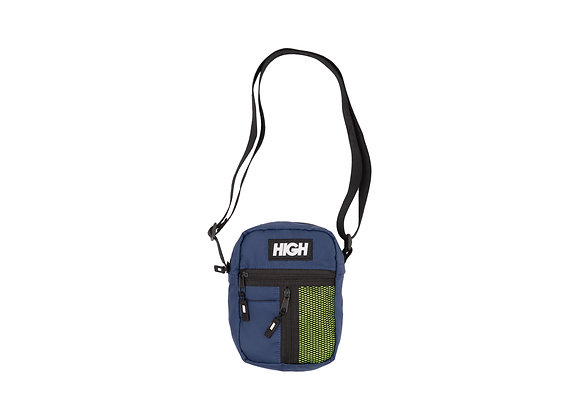 shoulder bag high side block navy/yellow