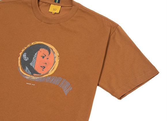 t-shirt class ''elis'' marrom