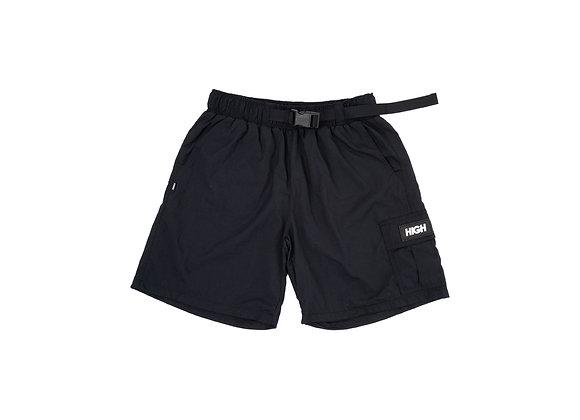ripstop cargo shorts high black