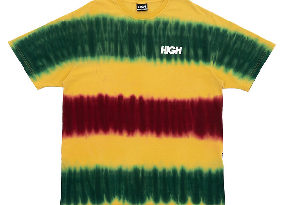 dyed tee high ''kidz'' yellow