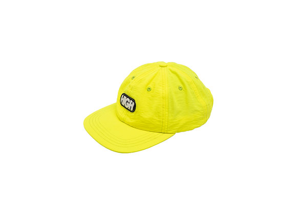 6panel high logo yellow