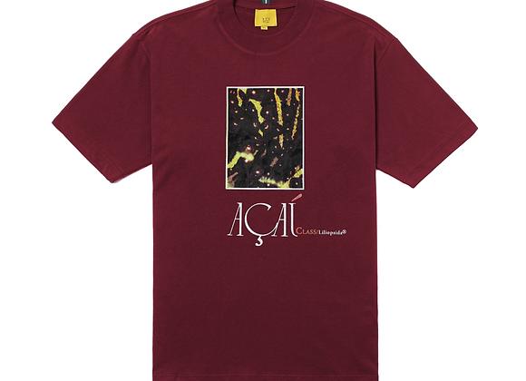 t-shirt class ''açaí'' burgundy