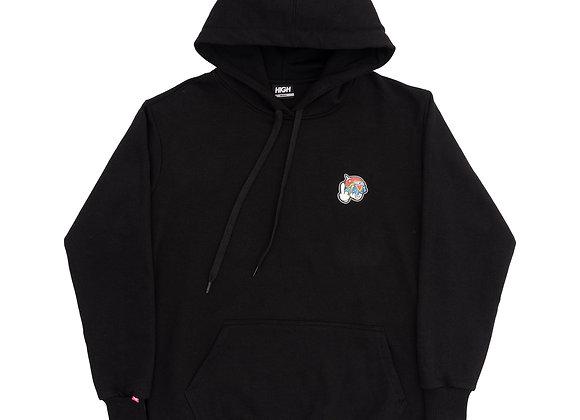 hoodie high ''space g'' black