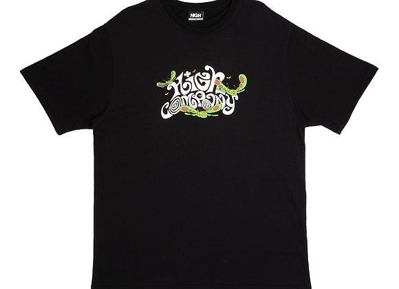 t-shirt high ''groove'' black