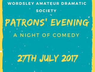 Patrons' Evening 2017!