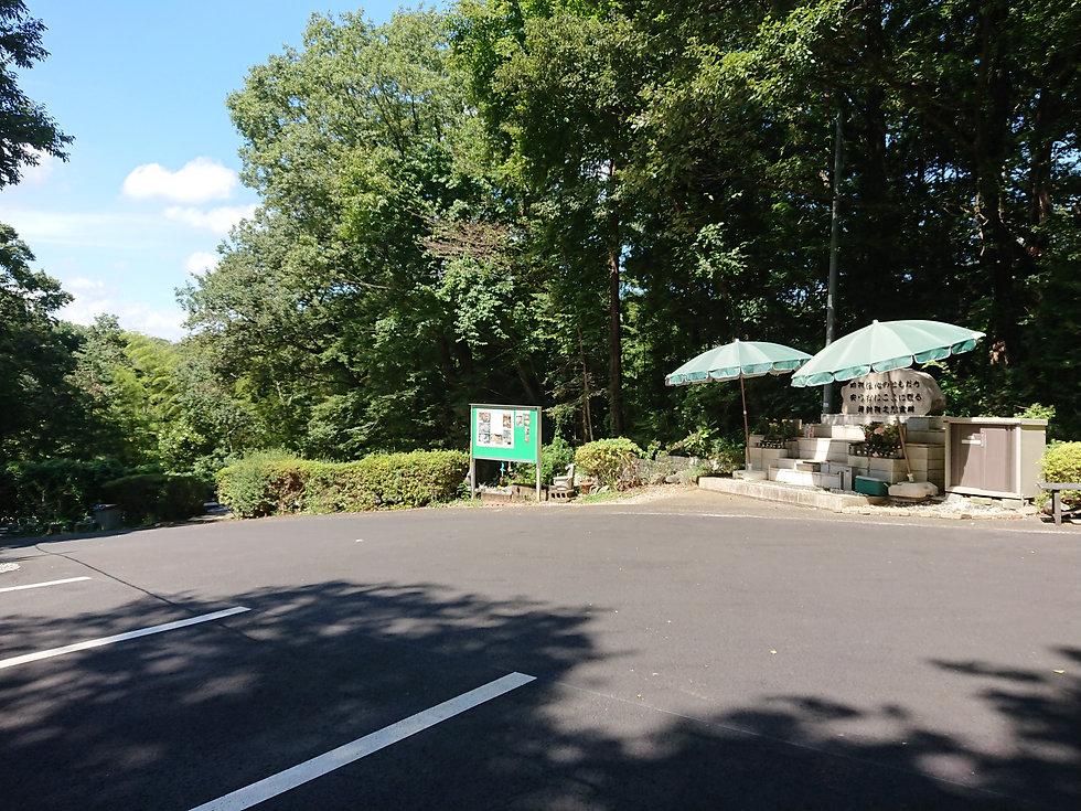 20201015日本ペット駐車場から見た共同墓地.JPG