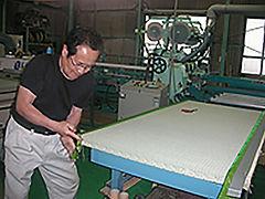 新畳・表替えの作業