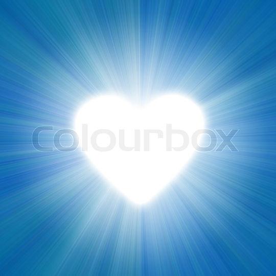 1699242-blue-sky-with-a-glow-of-white-li
