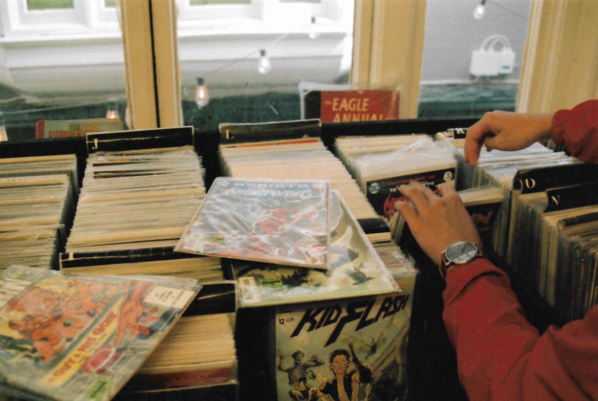 Searching Through Comics