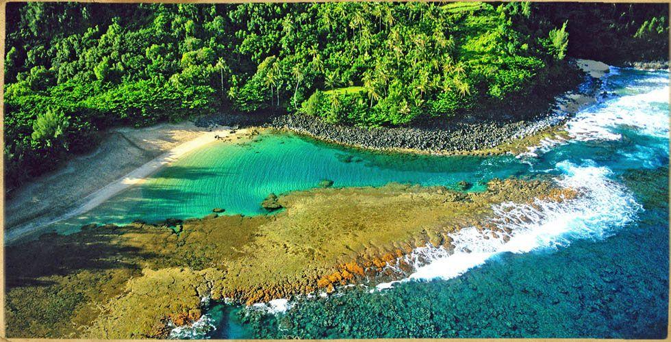 Kauaii Hawaii Ke'e Beach Kraftort Blogger Flowmove Rapperswil-Jona
